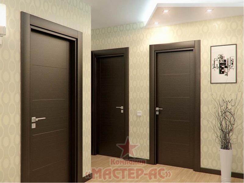 купить межкомнатные двери с установкой под ключ